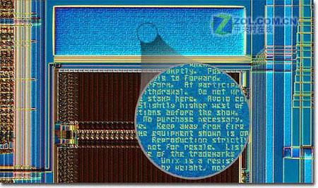 """你见过吗?雕在CPU内的""""图腾""""艺术品"""
