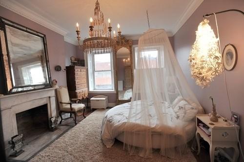奢华温馨公主房 女生卧室装修设计组图-中关村在线