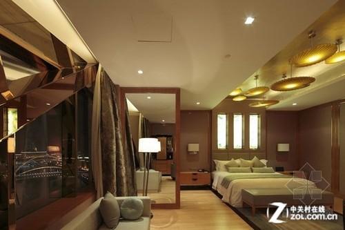 光影的装饰艺术 天津瑞吉酒店照明设计_led室内照明图片
