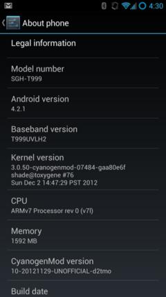 CM出击! 三星GALAXY S3获安卓4.2.1更新