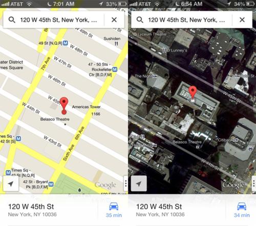 谷歌地图引发效应 iOS多款应用关注提升