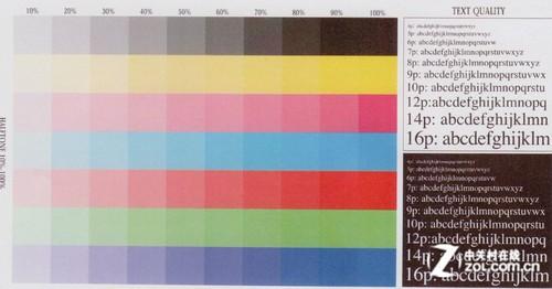 35页黑彩同速 A3高性能彩激C831dn首测