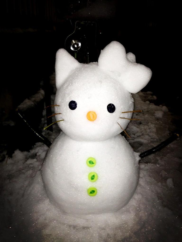 雪雕动物图片大全