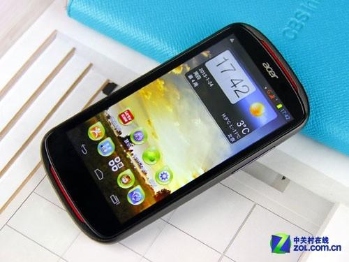 4.3英寸双核宏碁手机 个性Acer E1首测