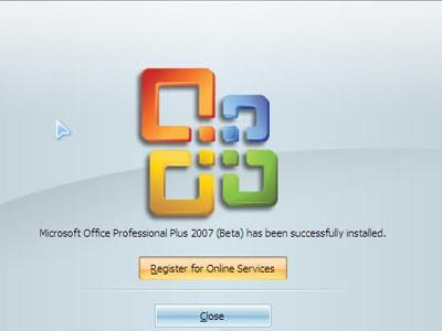 Microsoft office 2007英文专业增强版
