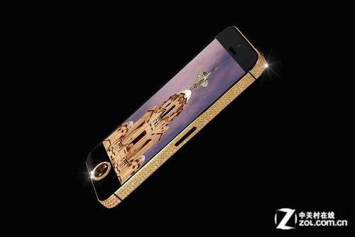 一千万英镑 中国商人定制最贵iPhone 5