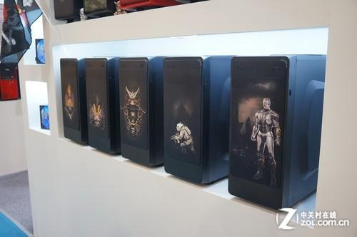 重金属彩雕元素 硕一机箱震撼香港展