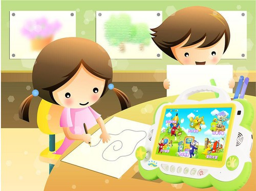 儿童益智平板电脑e3最具特色的天才宝贝课程