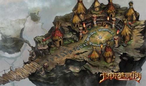 《北欧:诸神之战》100级地图原画首曝