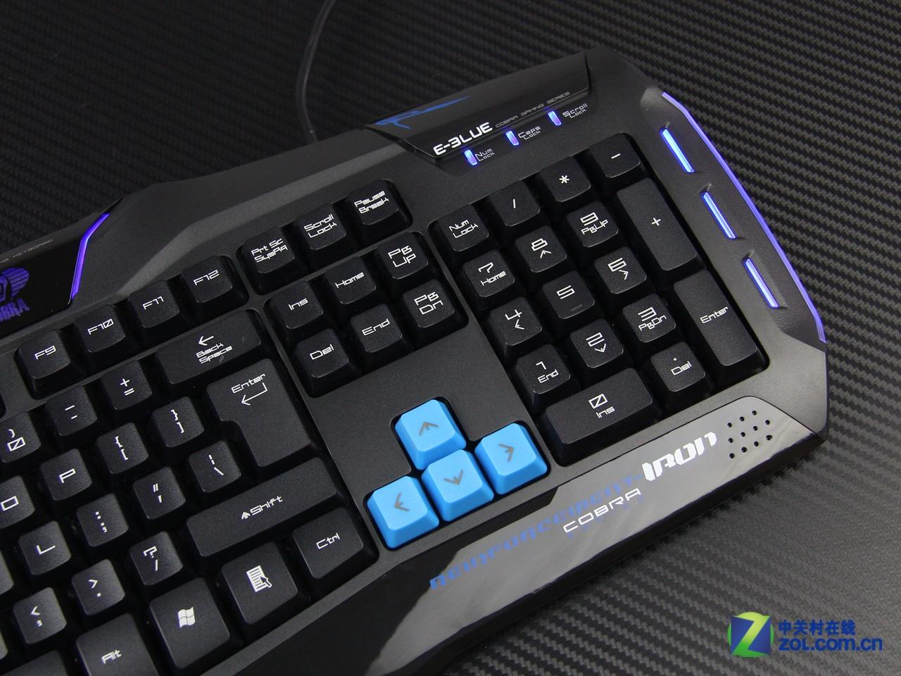 晚上沒有眩光,逸波眩光版鍵盤背光設計