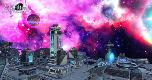 向银河进发  游历《无限世界》唯美外太空