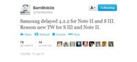 三星或推迟S3及Note2的安卓4.2.2更新