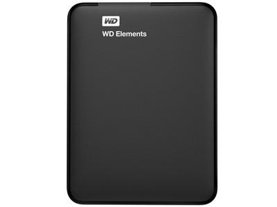 西部数据 Elements Portable USB3.0 1TB(WDBUZG0010BBK)