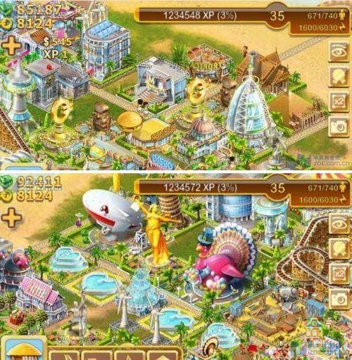 是一款免费模拟经营类游戏;天堂岛是一个充满