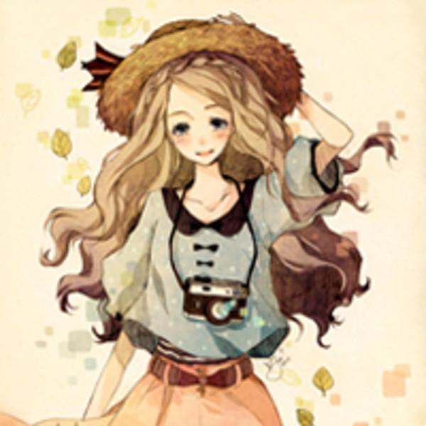 娇小可爱的卡通女生个性qq头像 (13/14)