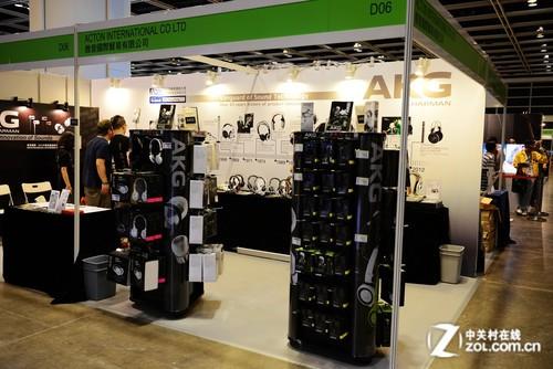 2013香港视听展 AKG
