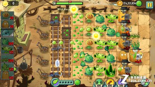 植物大战僵尸2 第九关全星达成攻略 3G评测 中关村在线图片