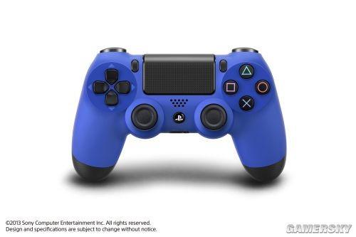 惊喜 索尼推出红蓝两款全新PS4游戏手柄