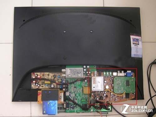 液晶电视的电路板易受潮