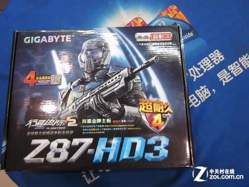 技嘉Z87搭配i7+8G内存套装仅售3399元