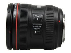 佳能EF 24-70mm f/4L IS USM侧面
