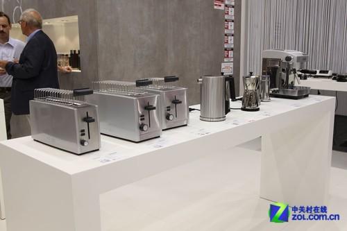 欧洲也有电饼铛 GRAEF厨房小家电参展