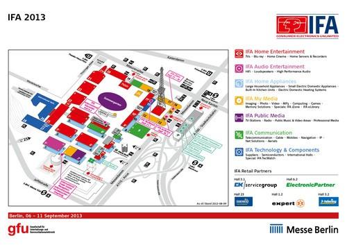 IFA2013即将正式开幕 交通展馆全面解析