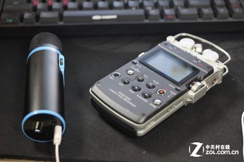 手机k歌新利器 测小黄鹂时尚便携麦克风