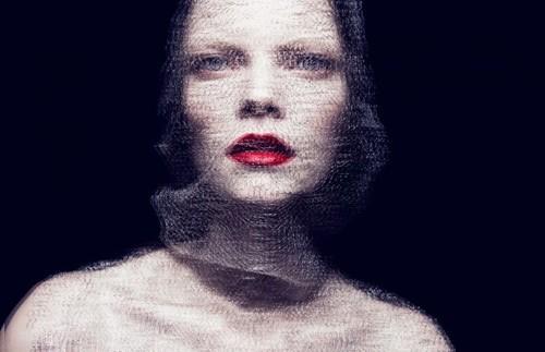 时装人物肖像摄影 现代风格商业