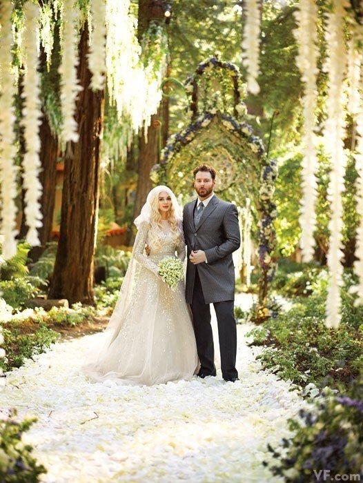 Facebook前总裁肖恩-帕克的奢华婚礼