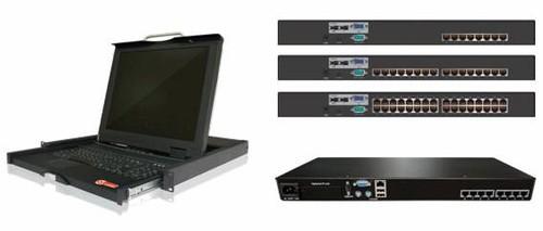 固网KVM切换器产品外观-集中优势 精准出击 固网KVM在中低端市场搏...