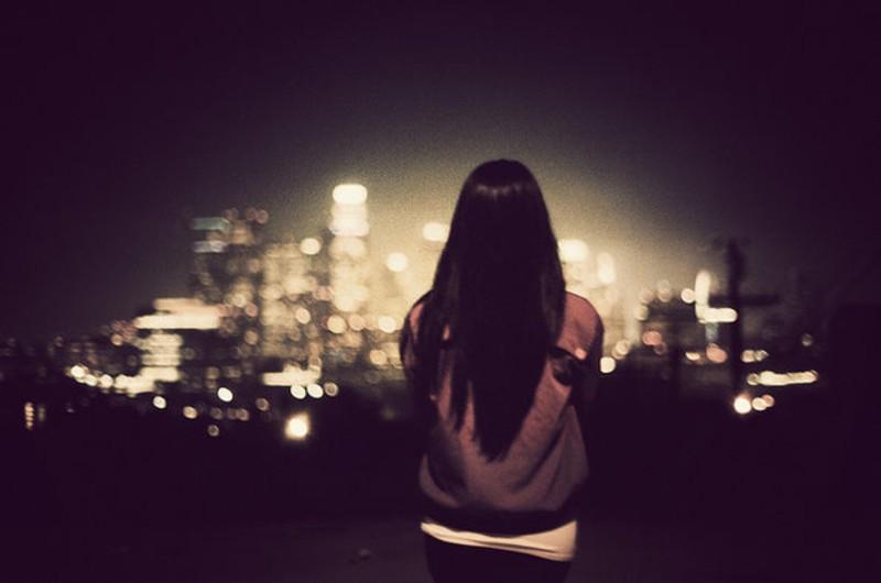 一个人看世界的灯火阑珊 唯美意境摄影 (9/16)图片