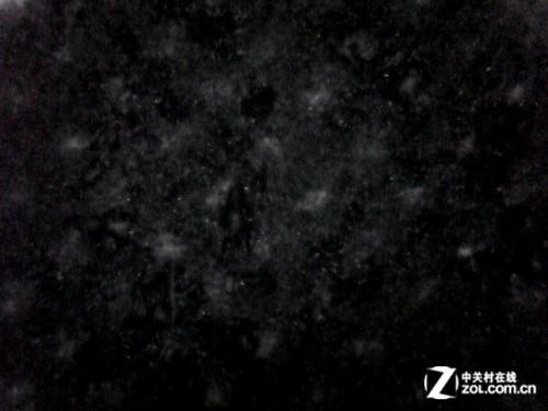 大字体纯黑部分,黑色浓郁-典雅端庄环保节能 三星K2200ND测试