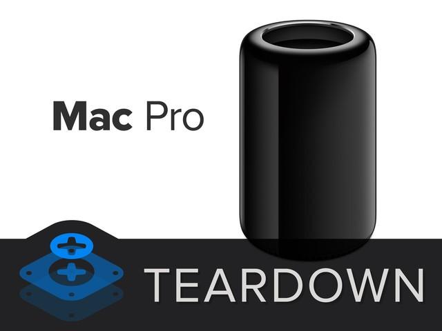 部件均可更换 iFixit团队拆解全新Mac Pro