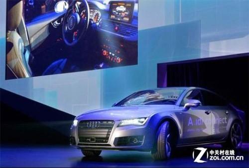 无人驾驶版的奥迪a7高清图片