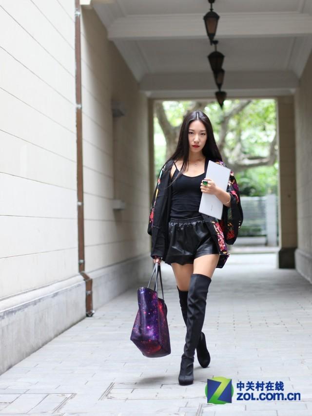 时尚潮人也亲睐 宏碁S7超极本外拍图赏