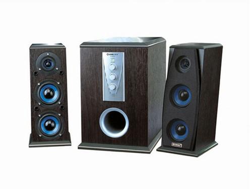 带遥控全木质箱体 慧海D-8200音箱简评