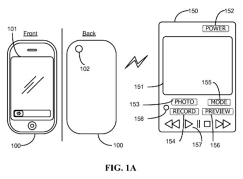 苹果相机遥控器专利曝光:可编辑图片-中关村在线