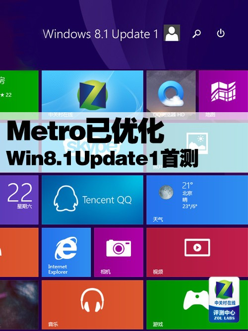 Metro已优化 Win8.1 Update1正式版首测