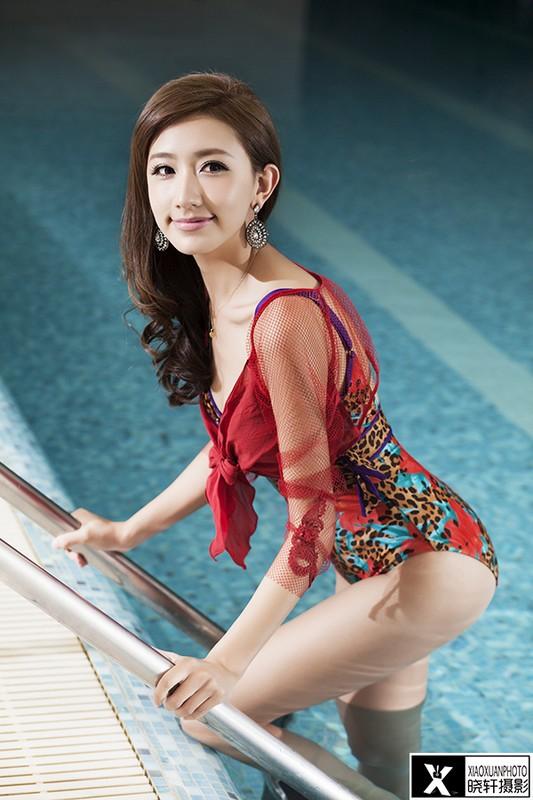 泳装 美丽 时尚/佳能5D2赏大片 泳装辣妈和她的小萝莉