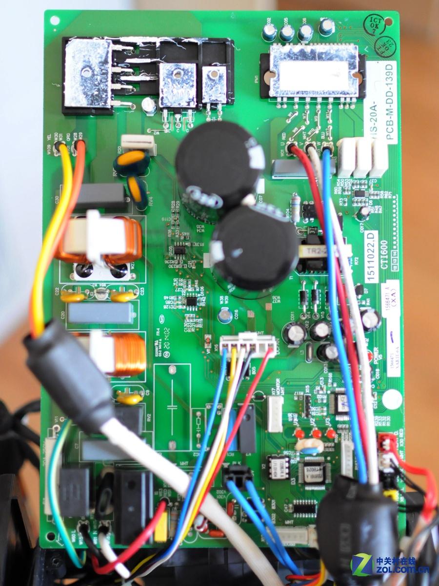 海信空调电路板设计非常规整