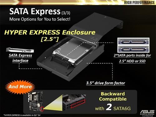 750MB/s!SATA Express接口高速体验