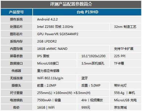英特尔芯10.1吋高分屏 365体育投注P19HD评测