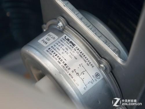 风扇电机由浙江卧龙电机提供