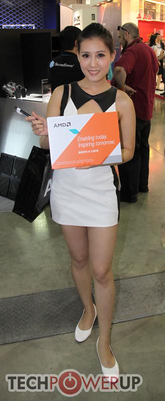 台北电脑展又一大波妹子来袭 130张ShowGirl美图一网打尽的照片 - 40