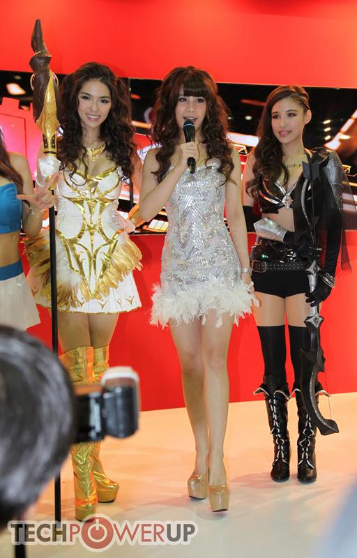 台北电脑展又一大波妹子来袭 130张ShowGirl美图一网打尽的照片 - 46