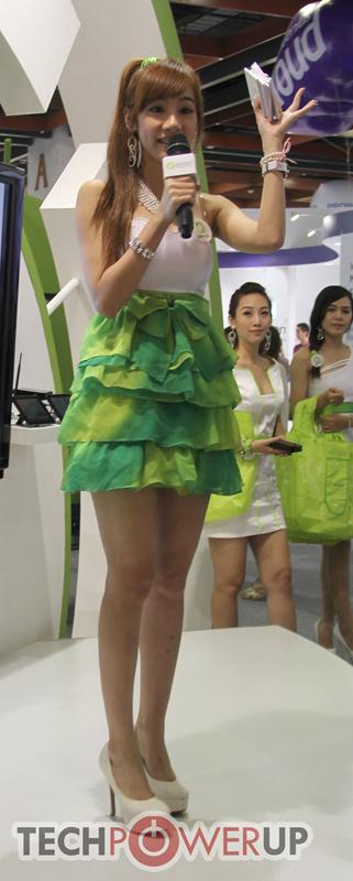 台北电脑展又一大波妹子来袭 130张ShowGirl美图一网打尽的照片 - 64