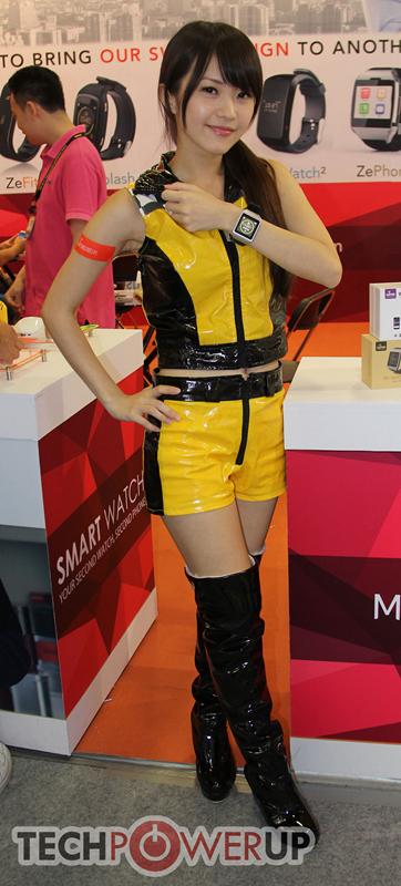 台北电脑展又一大波妹子来袭 130张ShowGirl美图一网打尽的照片 - 70