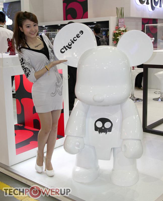 台北电脑展又一大波妹子来袭 130张ShowGirl美图一网打尽的照片 - 88