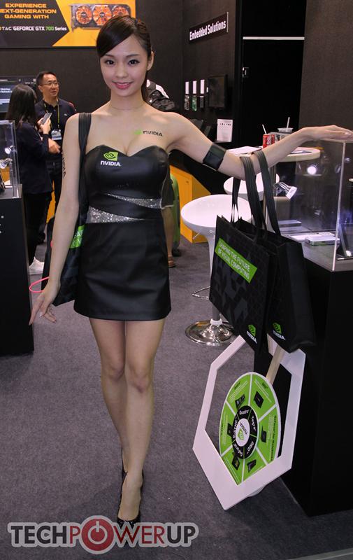 台北电脑展又一大波妹子来袭 130张ShowGirl美图一网打尽的照片 - 121